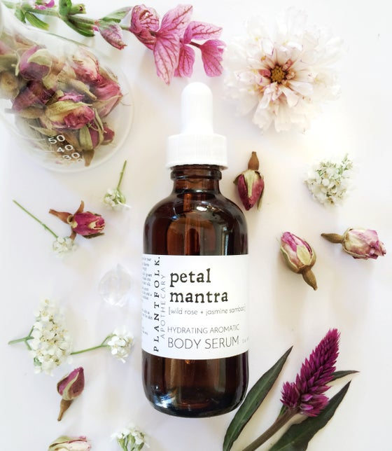 Image of petal mantra {wild rose + jasmine sambac} bath & both serum