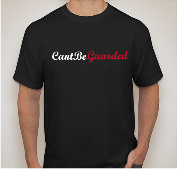Image of Can't Be Guarded Script tee
