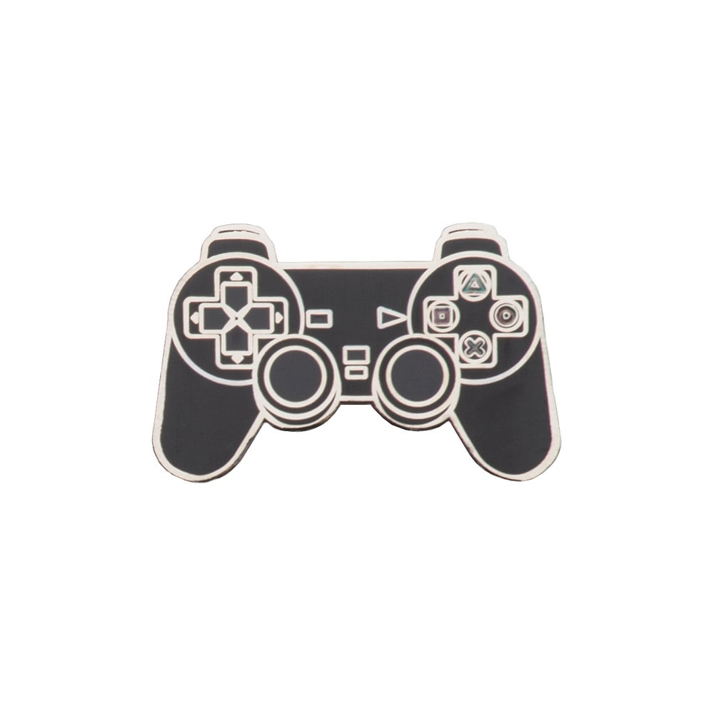 "Image of PS2 Controller 1.25"" Lapel Pin"