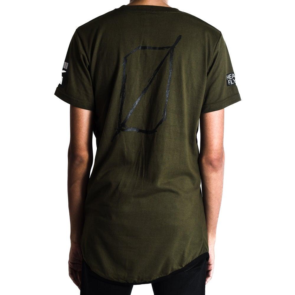 Image of Metal 02 Tshirt Army Green