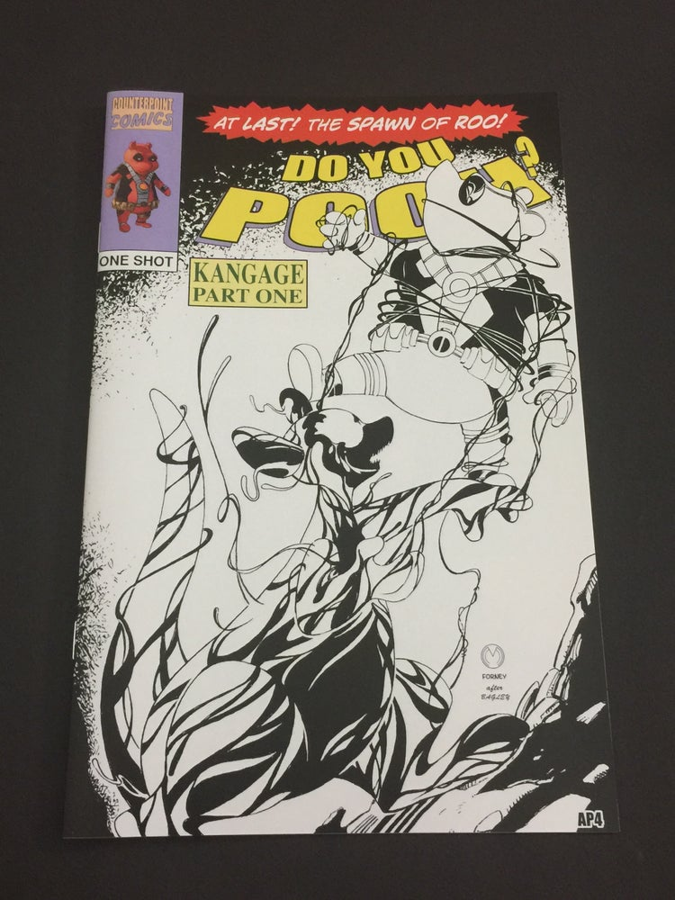 Image of Do You Pooh? #1 Spider-Man 361 Homage B/W Sketch Edition Variant by Marat Mychaels (AP)