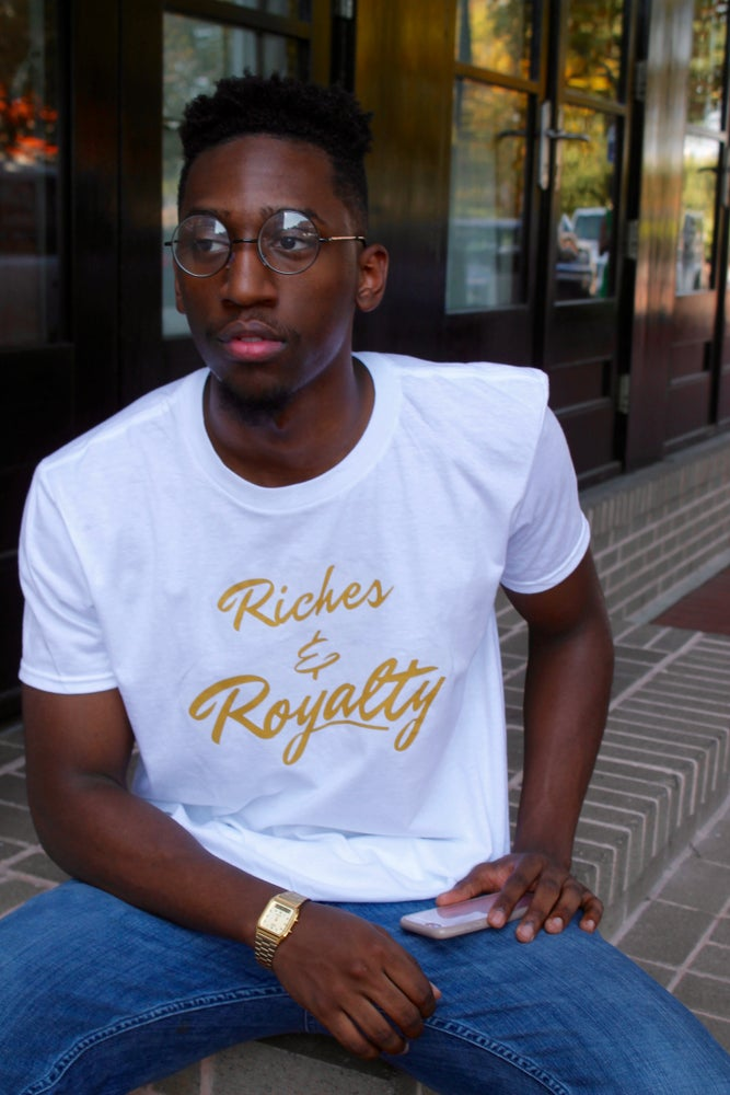 Image of White R&R Signature T-Shirt
