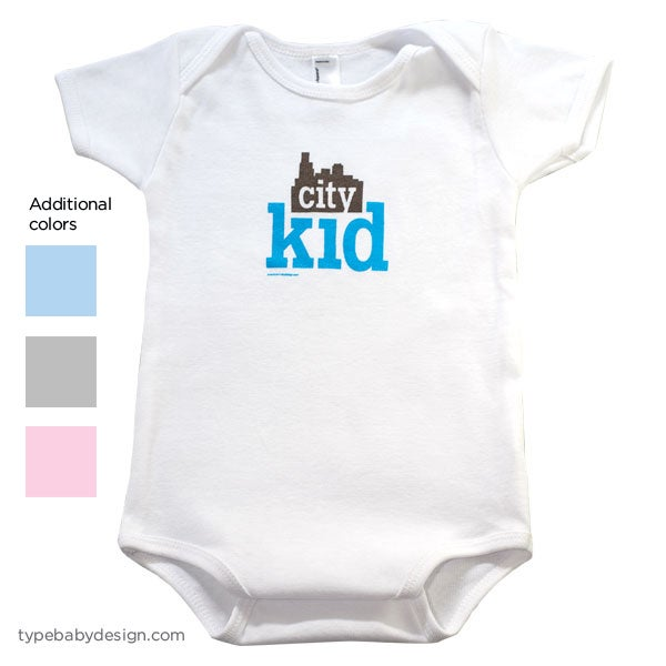 Image of City Kid infant & toddler bodysuit
