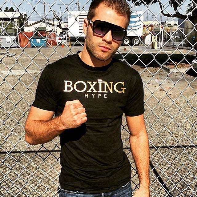 Image of Black on Gold BoxingHype Tees