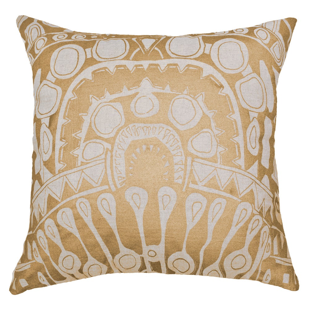 Image of Totem Gold Cushion