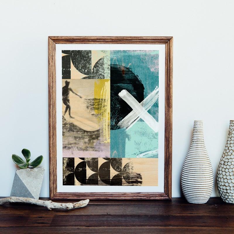 Image of Surfer Giclee Art Print