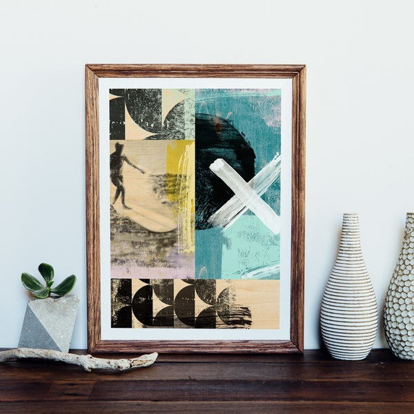 Image of Surfer Giclee Art Print