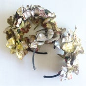 Image of Silver + Gold Glitter Crown