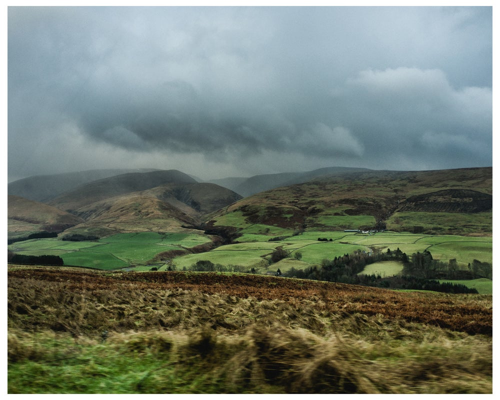"Image of 8"" x 10"" print (limited edition of 10) Scotland II, 2016 + 65 MPH book"