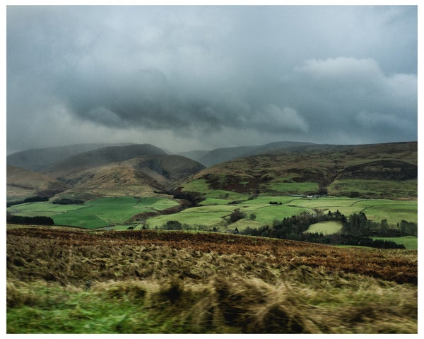 """Image of 8"""" x 10"""" print (limited edition of 10) Scotland II, 2016 + 65 MPH book"""