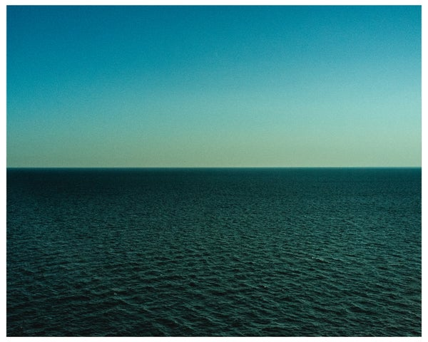 """Image of 8"""" x 10"""" print (limited edition of 10) The Atlantic Ocean, 2015  + 65 MPH book"""