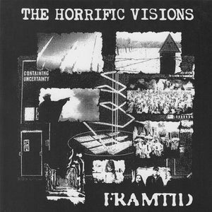 "Image of FRAMTID ""THE HORRIFIC VISIONS"" 7"" EP"