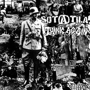 "Image of SOTATILA/THINK AGAIN - ""Black rainbow"" split 7""ep!"