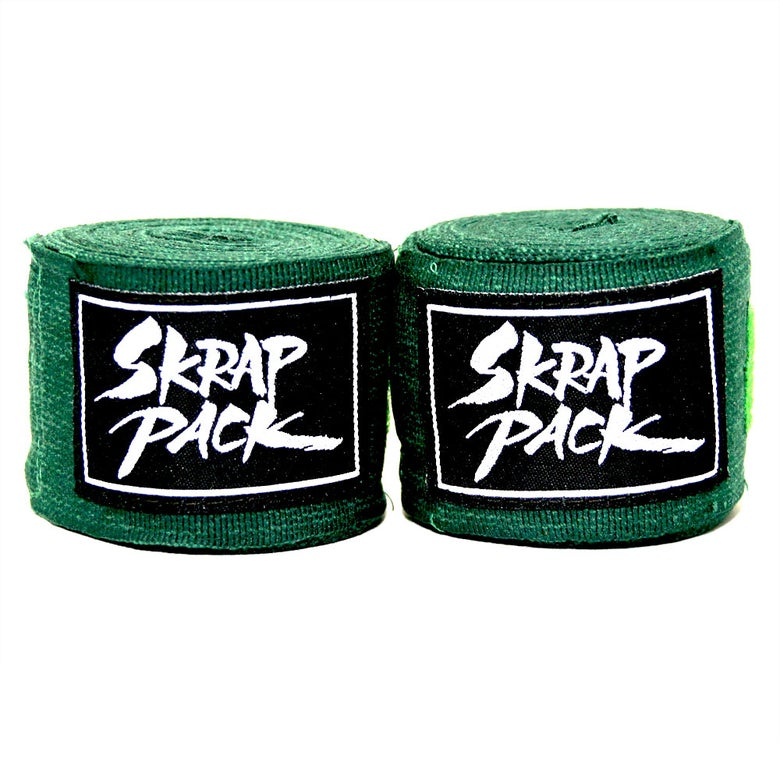 Image of Skrap Pack Hand Wraps (Green)