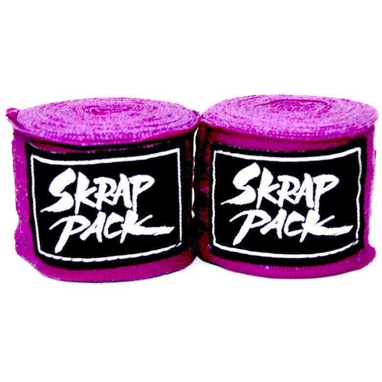 Image of Skrap Pack Hand Wraps (Purple)