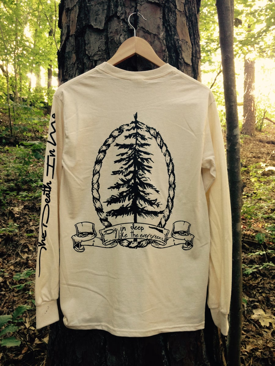 "Image of ""Evergreen"" Longsleeve (Natural)"