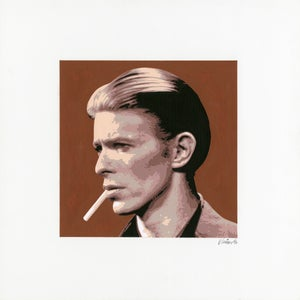 Image of DAVID BOWIE acrylic portrait No. 3