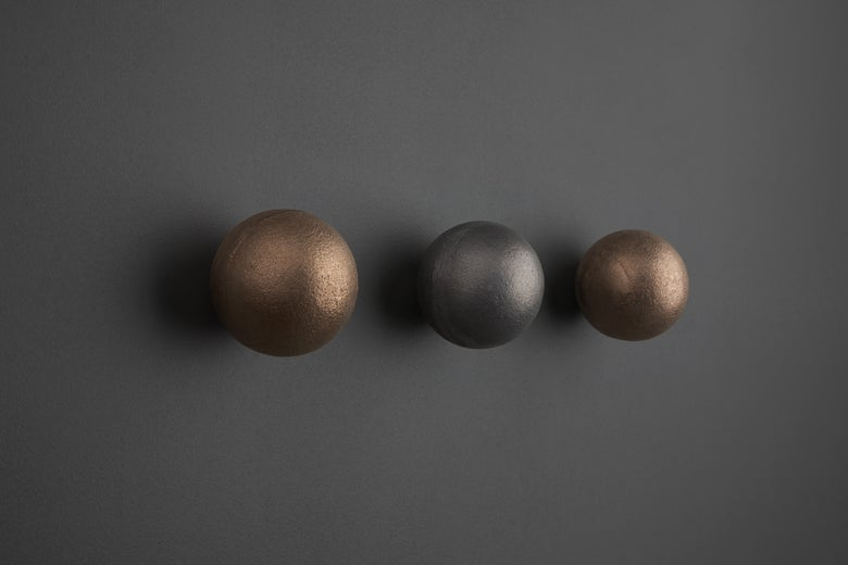 Image of Bronze Orb Wall Hook
