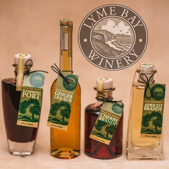Image of Lyme Bay Winery Liqueurs
