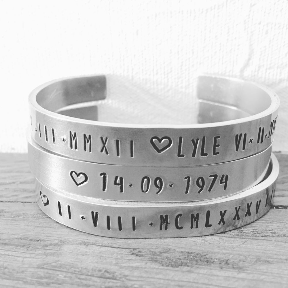 Image of Personalised bangles