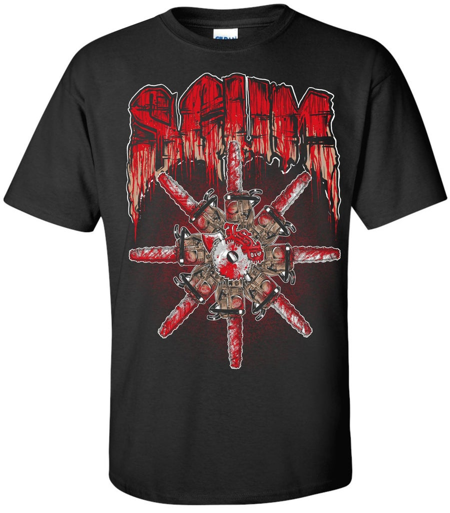 Image of SCUM - CHAINSAW SHIRT