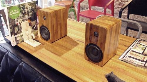 Image of 16 Passive speakers (pair) -teak