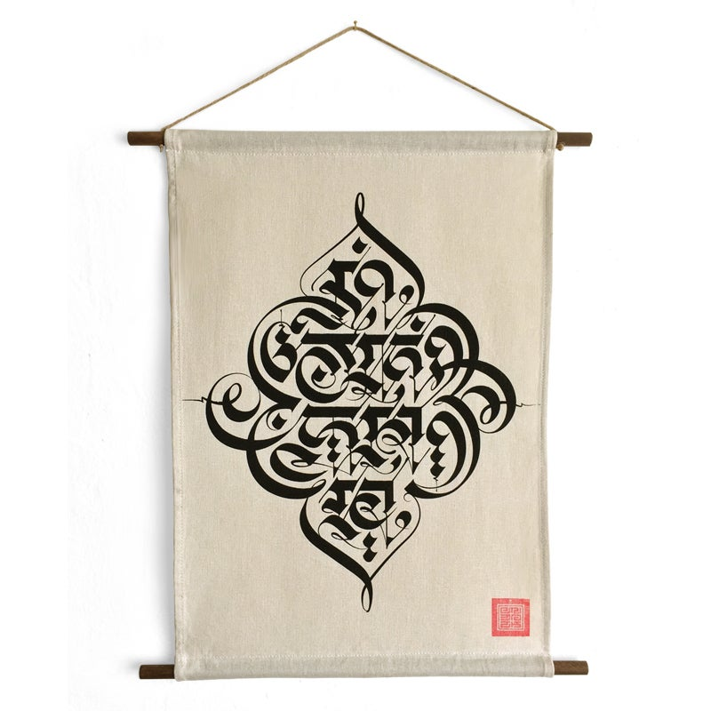 Image of 'MOKSHA' HANGING SCROLL | Limited Edition