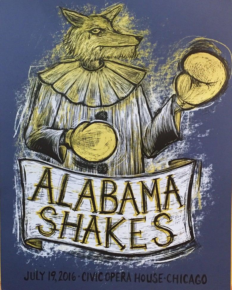 Image of Alabama Shakes Civic Opera House