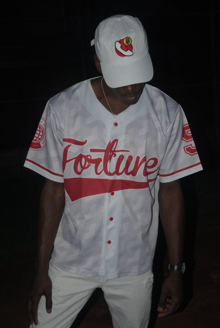 Image of LMT Till My Name Get's Called Baseball Jersey (White)