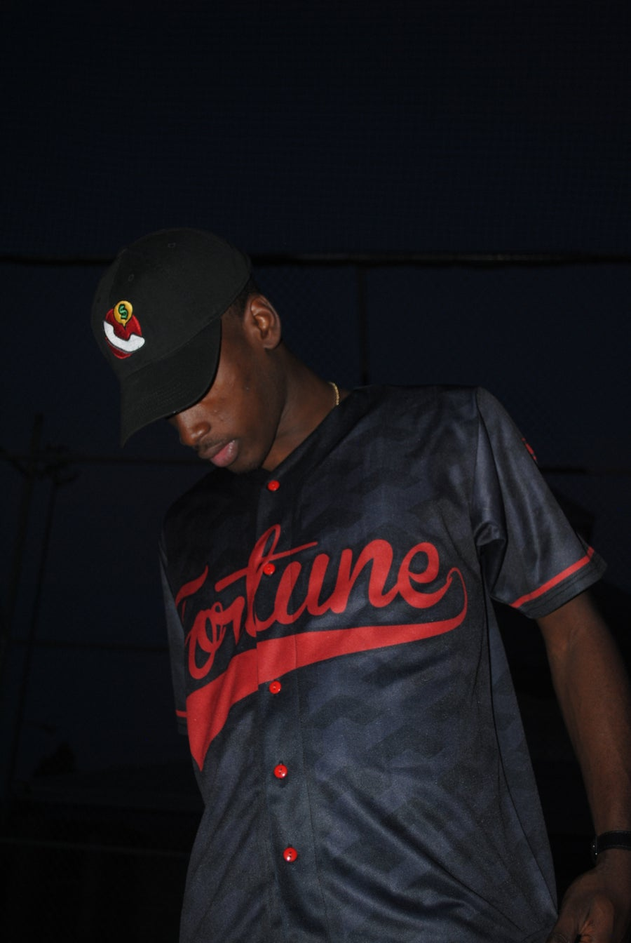 Image of LMT Till My Name Get's Called Baseball Jersey (Black)