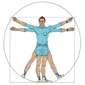 Image of VITRUVIAN KLAUS - LIFE AQUATIC COLOR Print