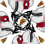 Image of BLOOD SEWER PIZZA MAGIK TMNT Print