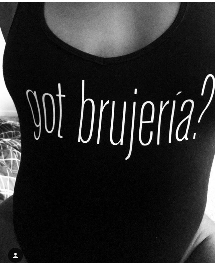 "Image of ""Got Brujería?"" leotard"