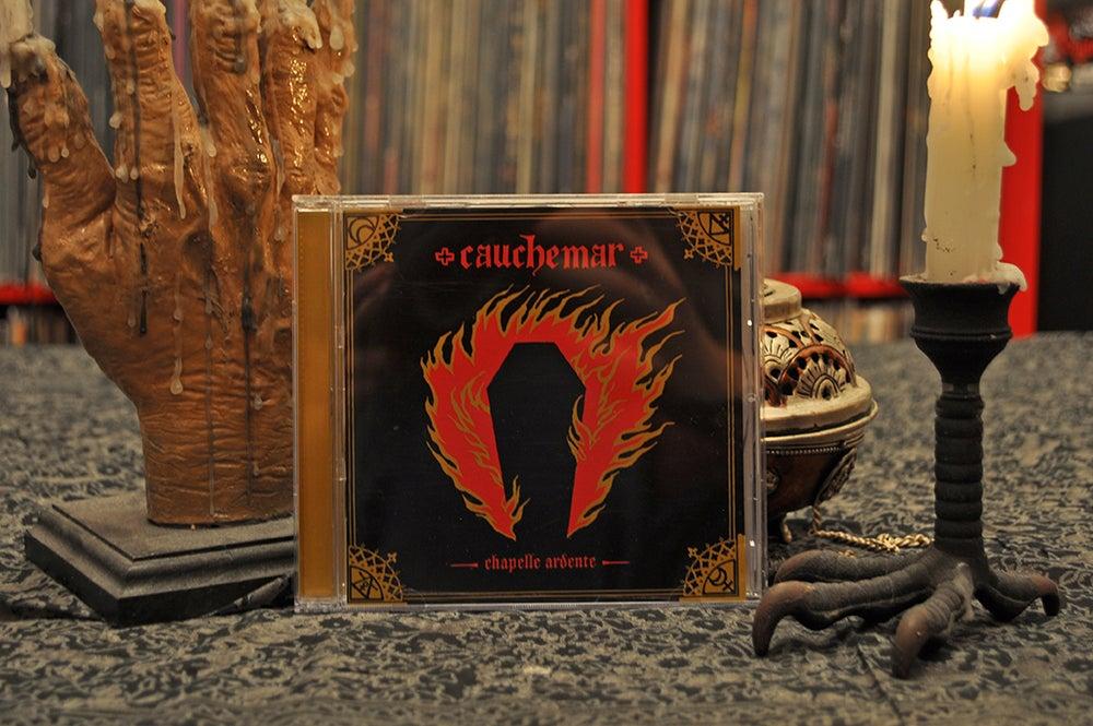 "Image of CAUCHEMAR ""Chapelle Ardente"" CD"