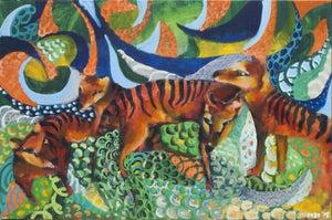 Image of Thylacine family #2