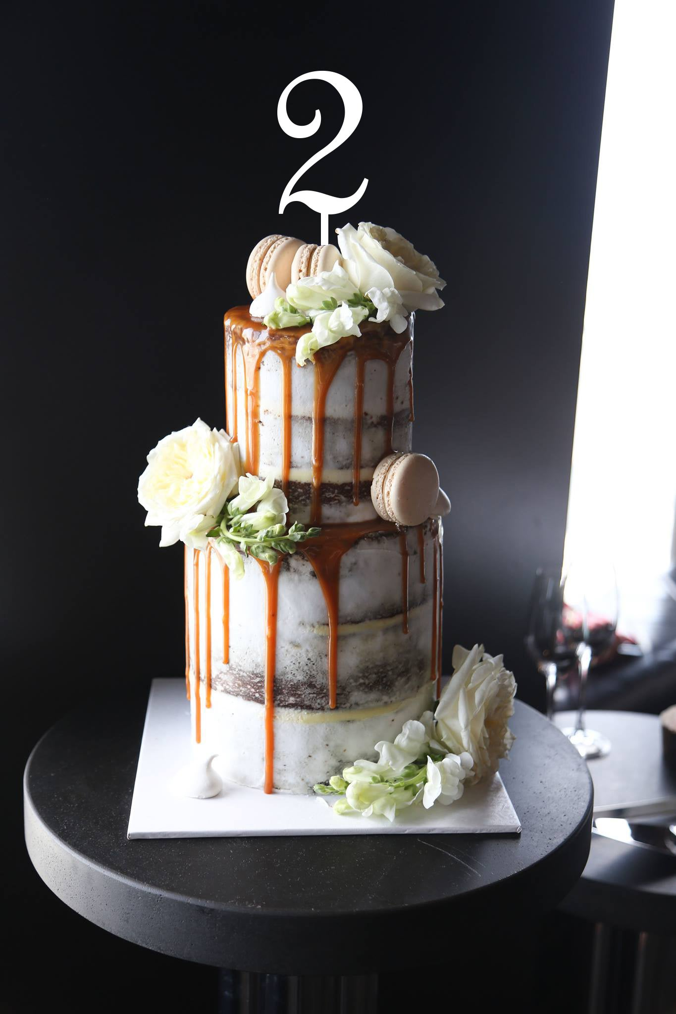 Image of Single Number Cake Topper