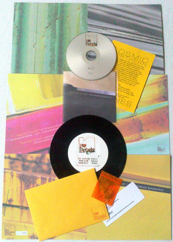 "Image of BBR#22 Yeah Yeah Industrial Limited Edition 7""/CD E.P package"