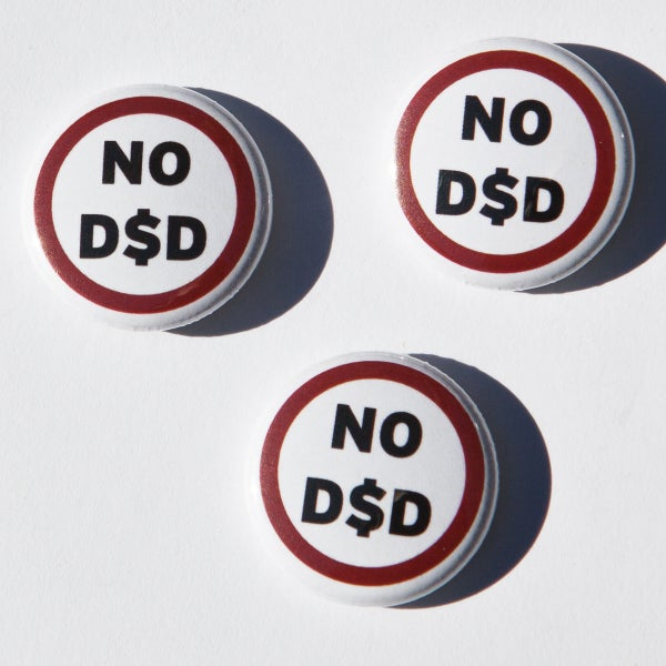 Image of No D$D badges