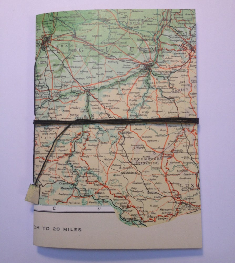 Image of Petit Cahier - vintage map - 'More coming soon'
