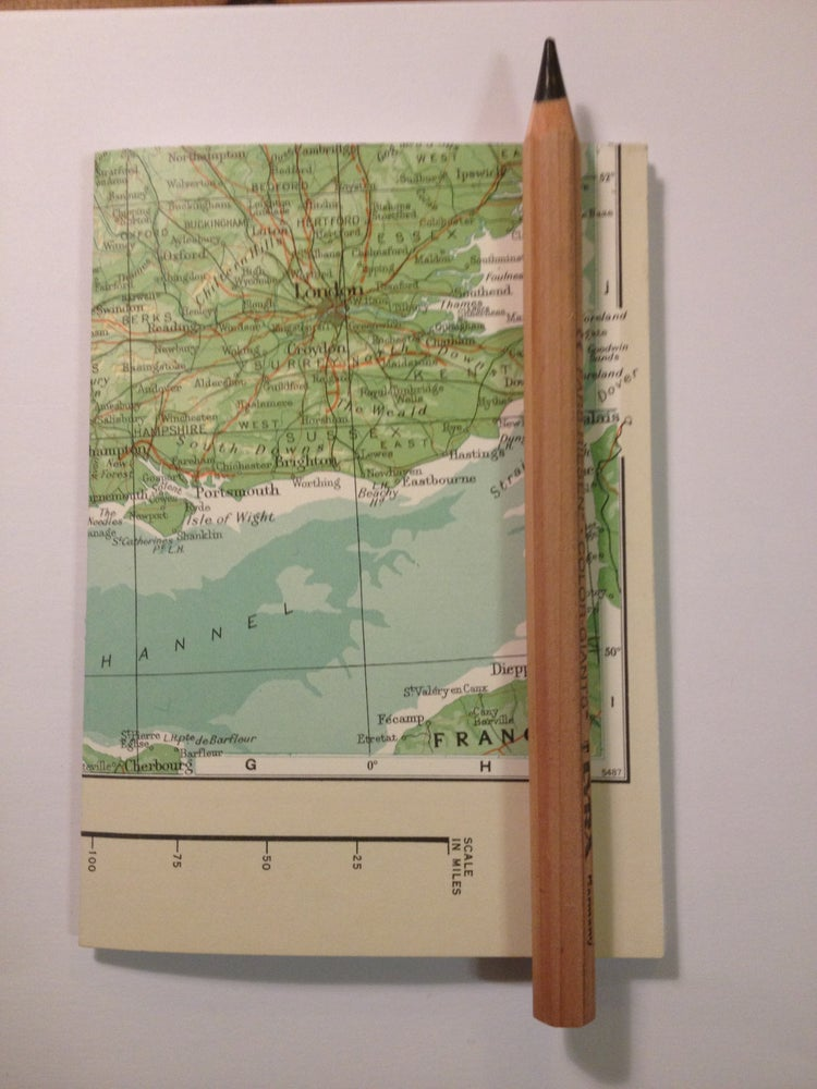 Image of Petit Cahier - vintage map