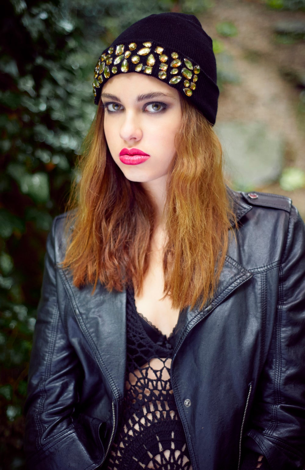 Image of Knitted Luxe Gem Beanie Available in 4 Colours