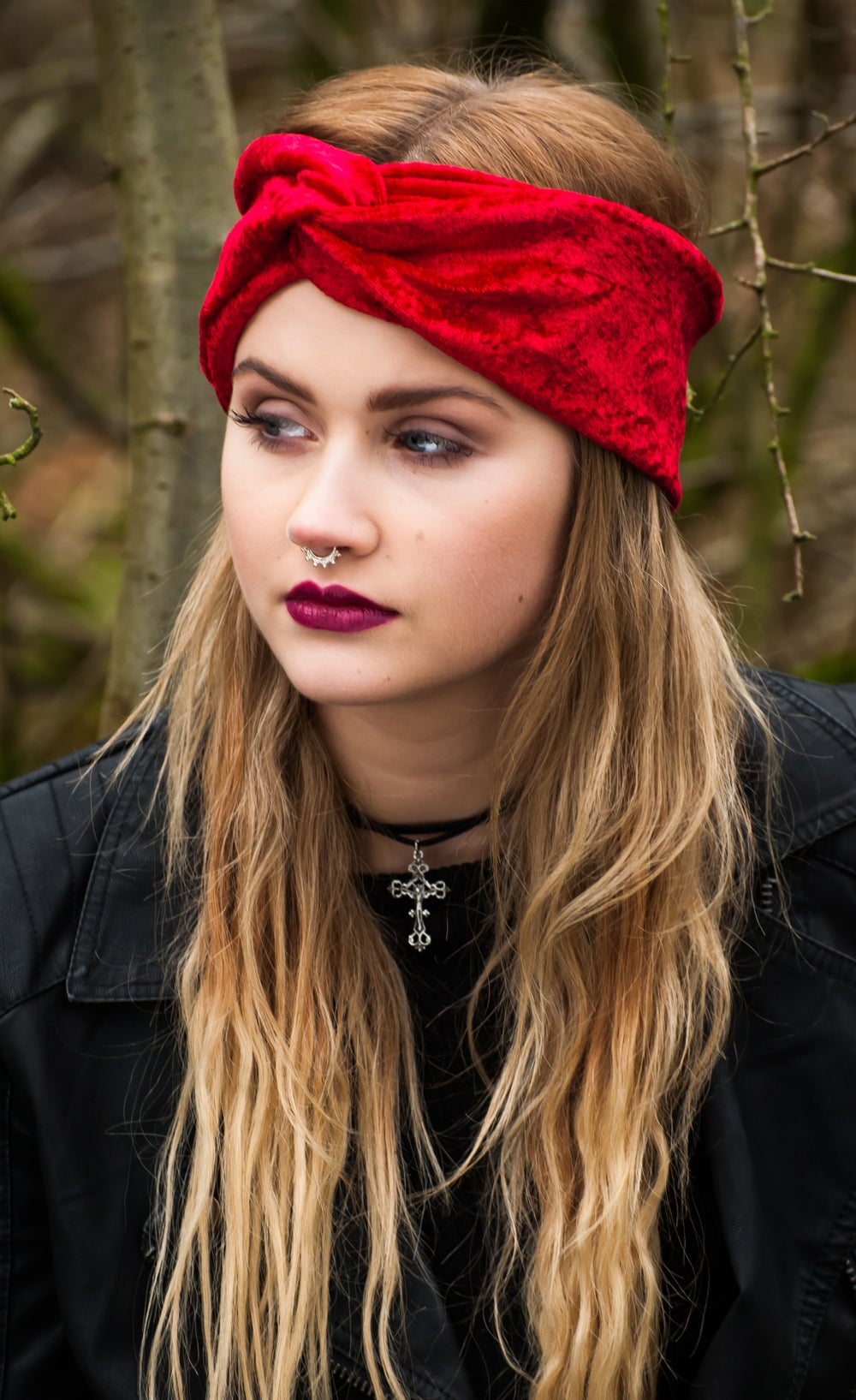 Image of Luxe Velvet Turban - Available in 12 Colours