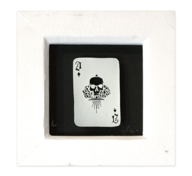 Image of Playing Card Papercut - Ace of Spades