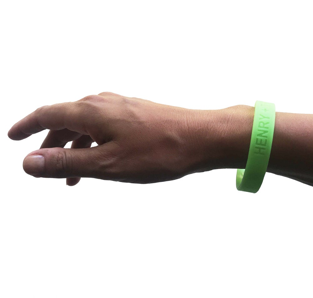 Image of Keep On Keepin' On Glow in the Dark Wristband