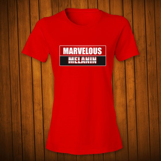 Image of Marvelous Melanin Red Women's