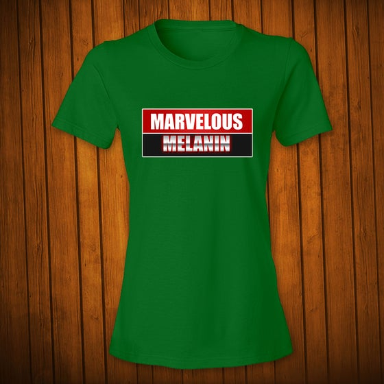 Image of Marvelous Melanin Green Women's