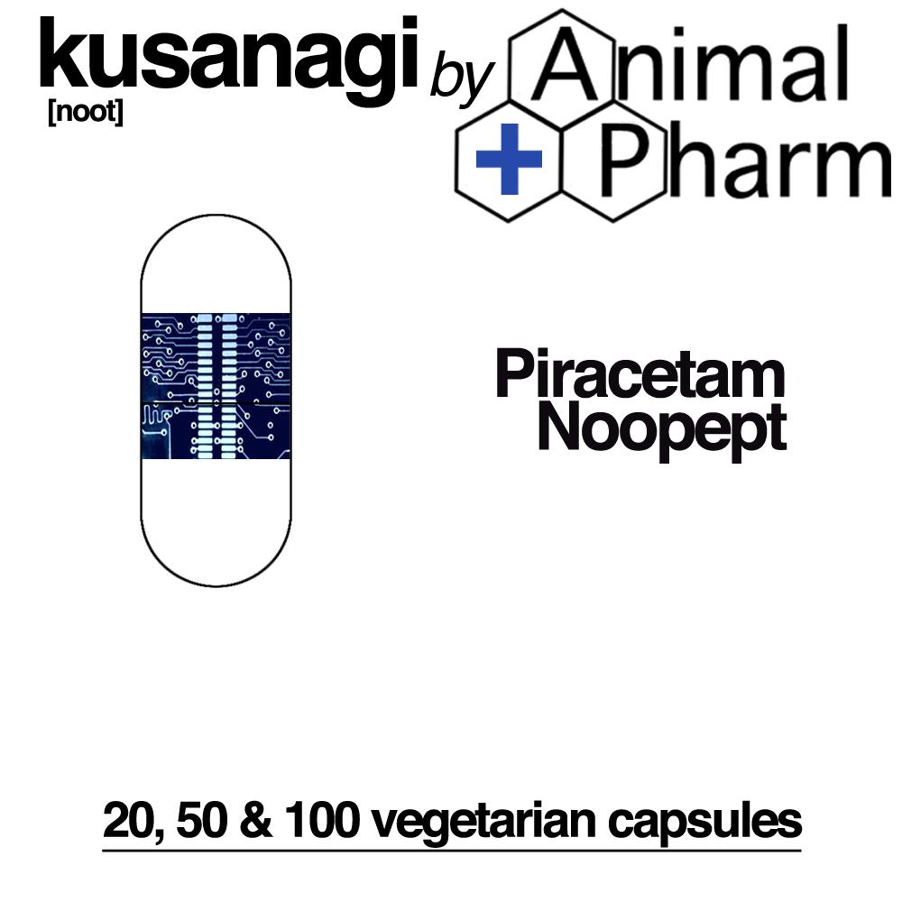 Image of KUSANAGI Nootropic Blend *Noopept *Piracetam