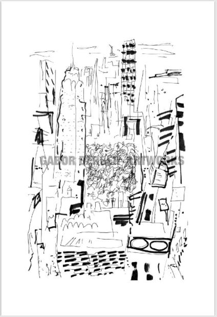 Image of NEW YORK #1 AP 9/35