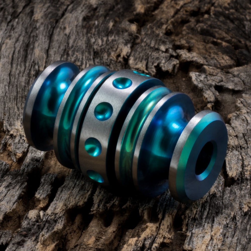 Image of Kong Bead Aqua #1