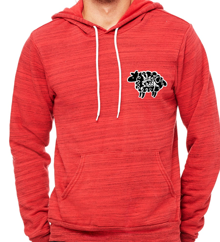 Image of LINED HOODIE (RED)